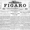 """Did you know when the newspaper """"Le Figaro"""" was published ?"""