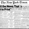"""Did you know who created the famous slogan  """"All the News That's Fit to Print,"""" of The new york times?"""